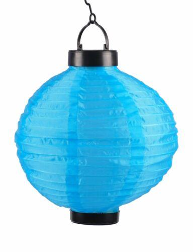 Solar-Lampion Ø25cm LED Papierlaterne Lampenschirm Lampions Laterne Garten Party