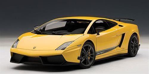 1 18 Autoart Lamborghini Gallardo lp570-4 Superleggera Metallic jaune) 2010