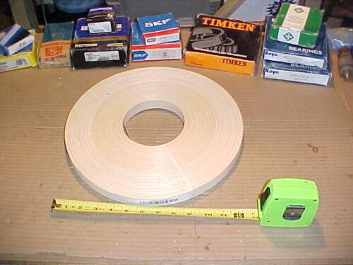 """500/' Fleece//Sand Wood Veneer Edge Banding 7//8/"""" White Maple Non Glued *Cheap"""