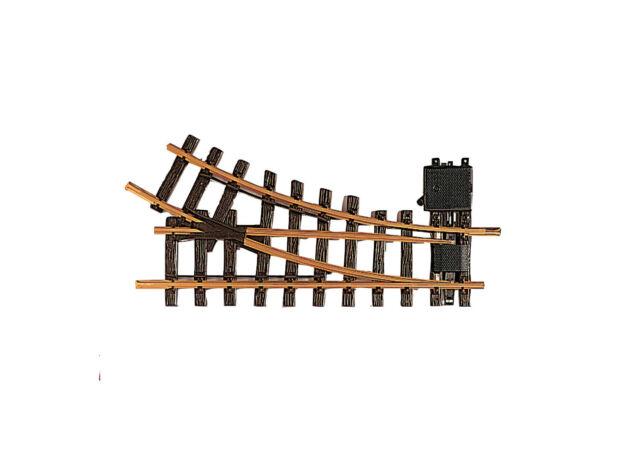 NEU + LGB 12100 Handweiche links R1 30°