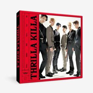 VAV-Thrilla-Killa-4th-Mini-Album-CD-Photobook-Photocard-Etc-Tracking-Number