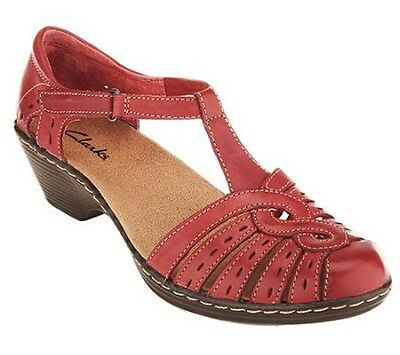 Clarks Leather Cut-out Sandals - Wendy Tiger PICK SIZE & COLOR Nto