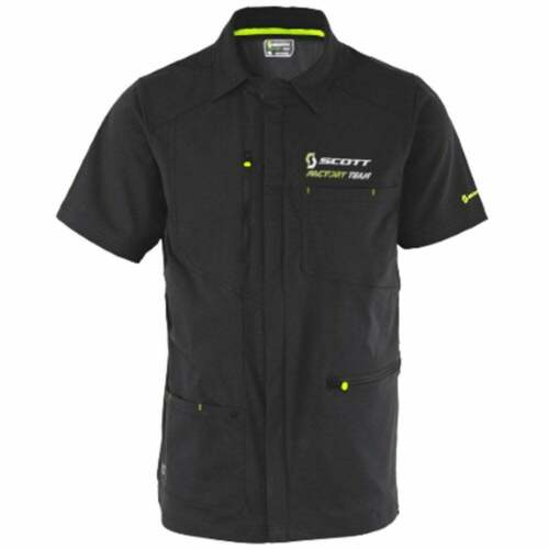 Scott Factory Team Zip Short Sleeved Shirt XL RRP £69.99