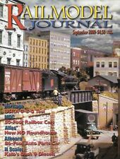 Railmodel Journal Sept.2000 Western Canada CN GE Dash 9-44CW Track Turnouts SD7