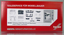 Herpa LKW  084062  Fahrerhaus MAN TGS M Euro 6 Bauversion Inhalt: 2 Stk.