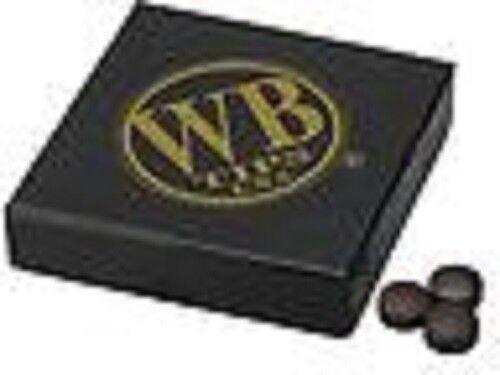 WB Water Buffalo Pool Cue Tip Original Brown Quantity 50 tips