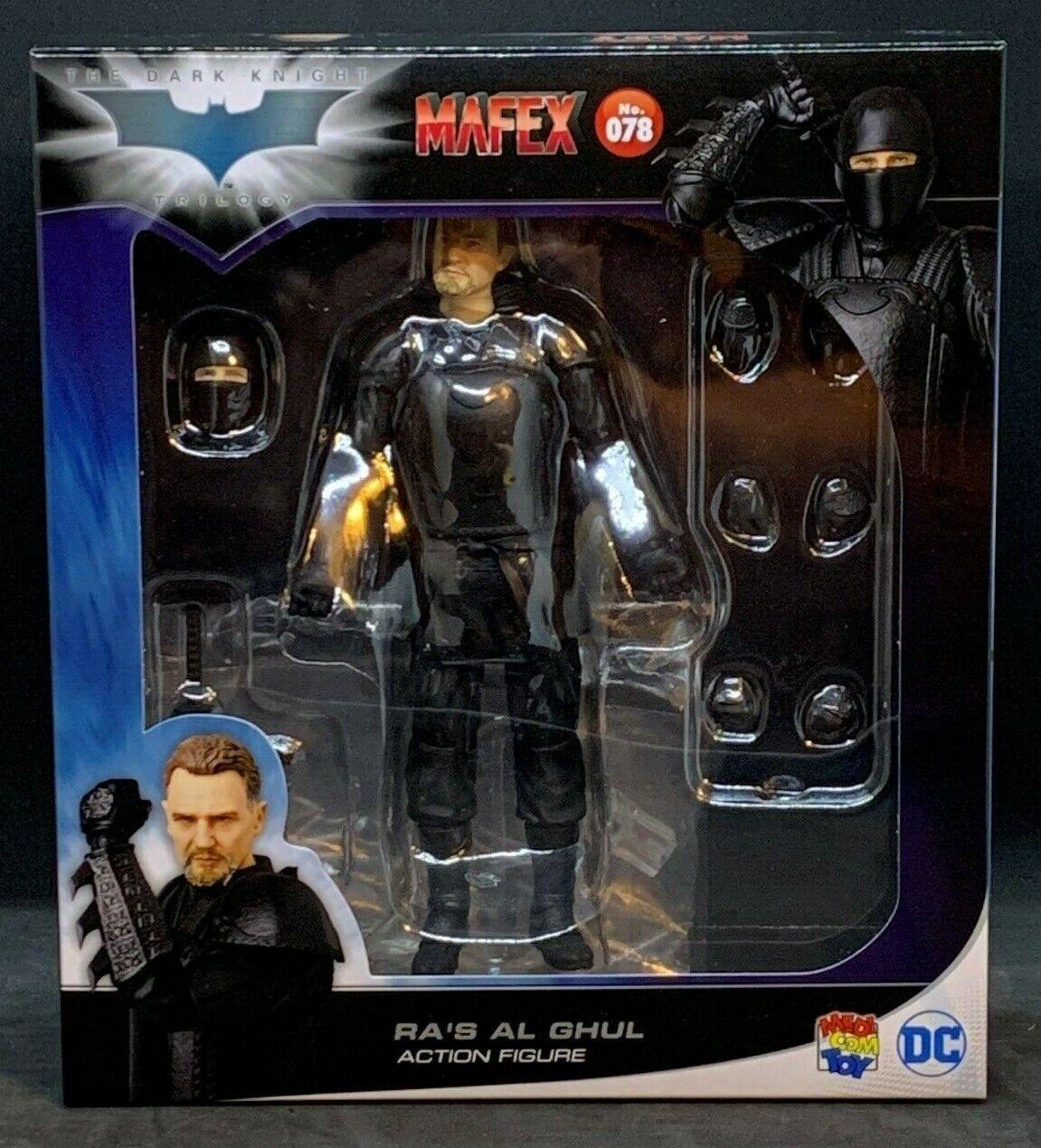 Medicom MAFEX Ra's Al Ghul - The Dark Knight Trilogy No. 078
