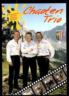 Musik Chaoten Trio Autogrammkarte Original Signiert ## Bc 48284 üBerlegene Leistung Autogramme & Autographen