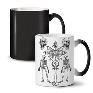 Gothic Skull NEW Colour Changing Tea Coffee Mug 11 oz   Wellcoda