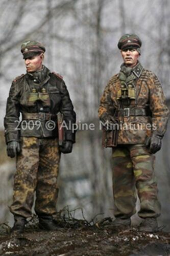 SCALE 1:35 LAH Officers in the Ardennes Set 2 fig. ALPINE MINIATURES 35077