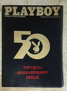 Playboy-Magazine-January-2004-Pull-Out-Centerfold-50th-Anniversary-Collector-039-s