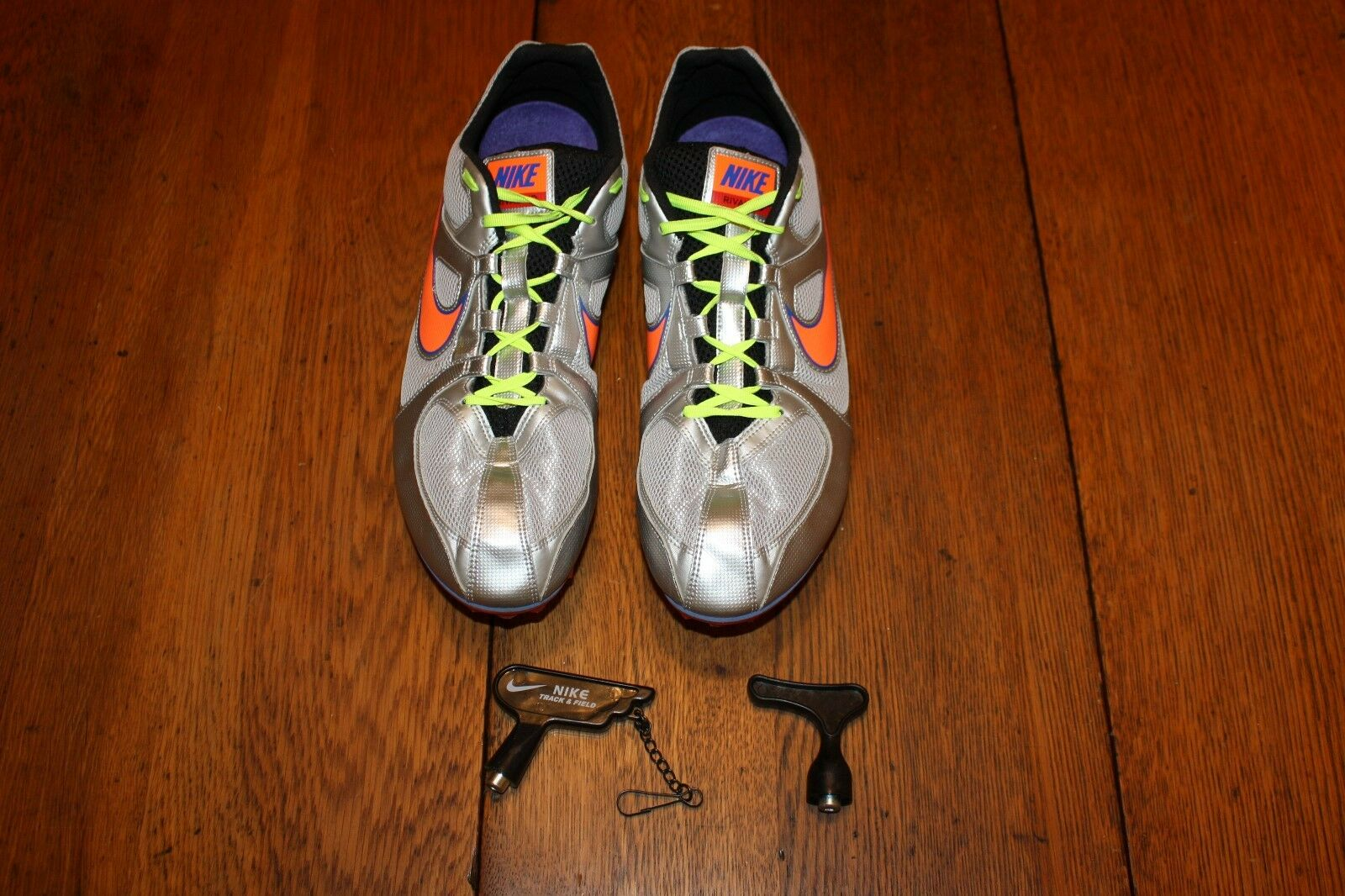 Nice! Nike Men Zoom Rival MD 6 Track/Field Spikes RegPrice reduction Special limited time