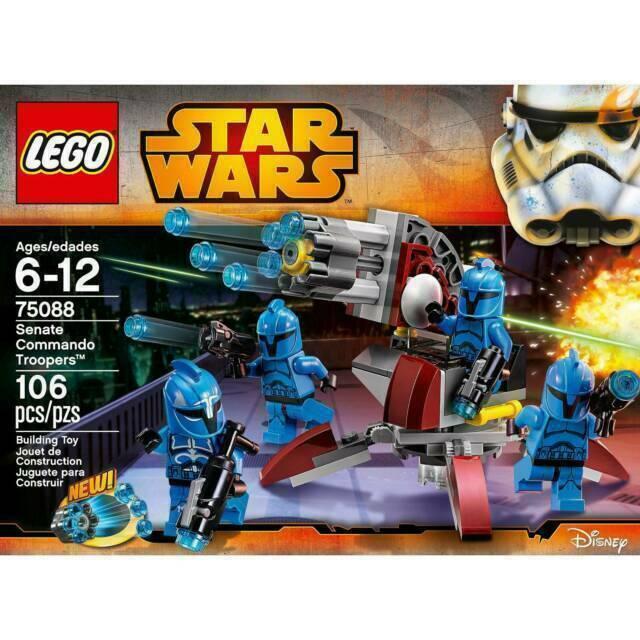 LEGO STAR WARS FIGUR ### SENATE COMMANDO TROOPER AUS SET 75088 ### =TOP!!!