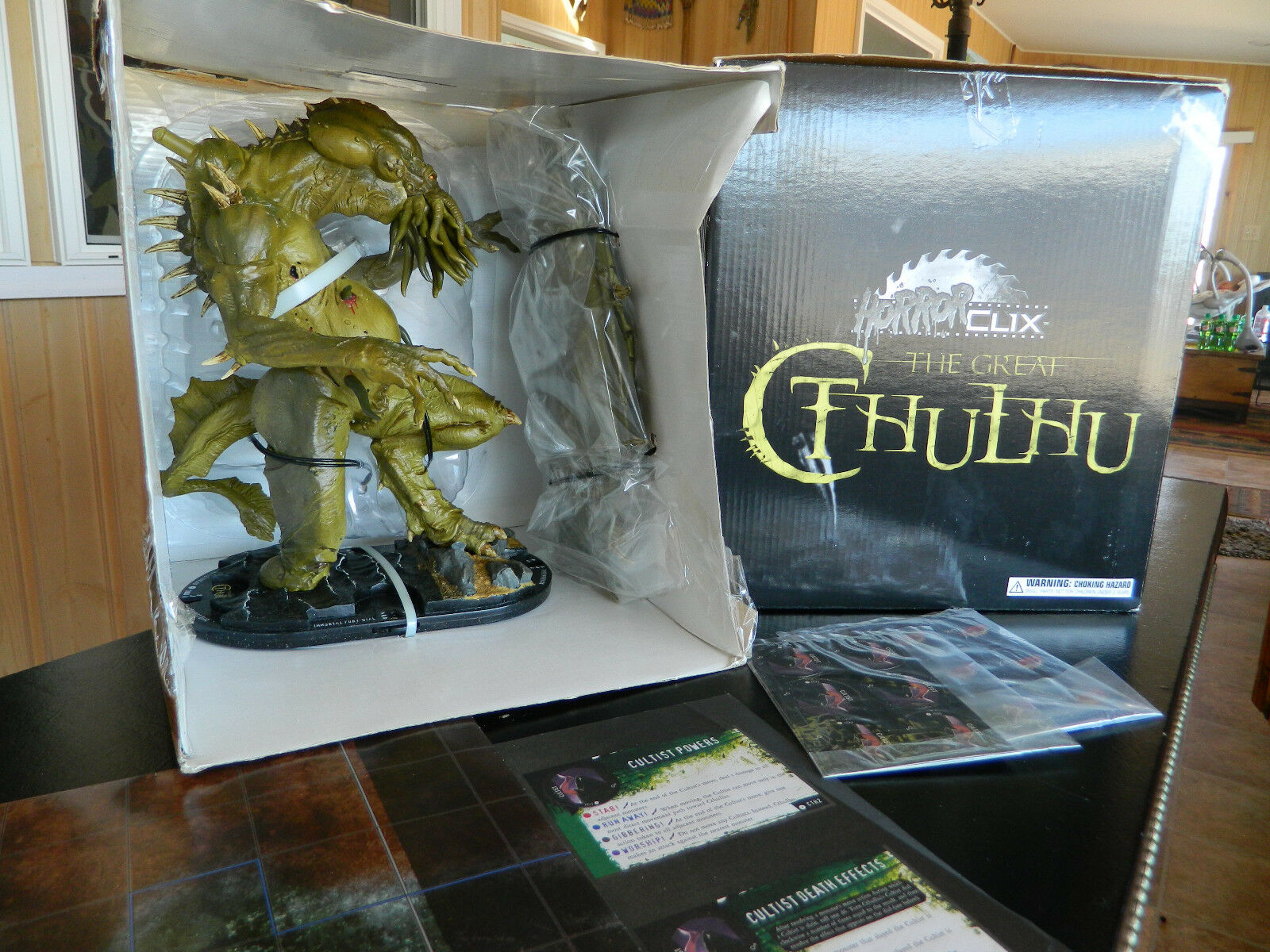 Horrorclix Great Cthulhu. NIB new colossal gargantuan RPG D&D Pathfinder HUGE.
