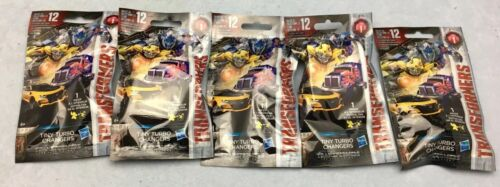 5 x Transformers 5 The Last Knight-TINY TURBO changeurs Single Blind Bags