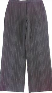 Evan-Picone-Stretch-Dress-Pants-Fits-Womens-6-8-Comfy-32-x-30-25-Actual-Striped