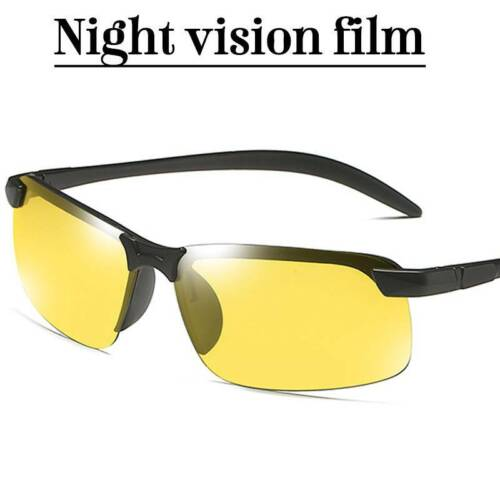 Men Photochromic Lens Polarized Sunglasses Driving Cycling Glasses UV400 New