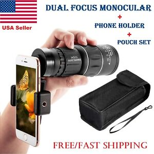 New-Day-Night-Vision-16X52-HD-Optical-Monocular-Hunting-Camping-Hiking-Telescope