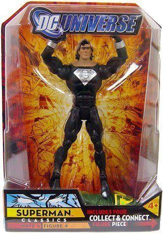 DC Universe Classics Kalibak Wave 6 Black Suit Long Hair Superman DCUC