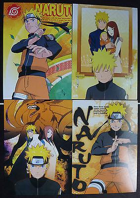 Naruto Post Cards X 4
