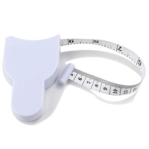 neu Mini Retractable WORKOUT FITNESS HEALTH DIET Tape Body Measure Ruler Pocket