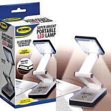 LED Super bright Portable Lamp USB Battery Travel Desk Computer Laptop Light