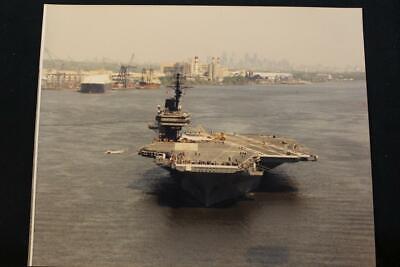 Sea Trials 8' X 10' Color Military Ship Photo Uss Kitty Hawk cv-63 p1313