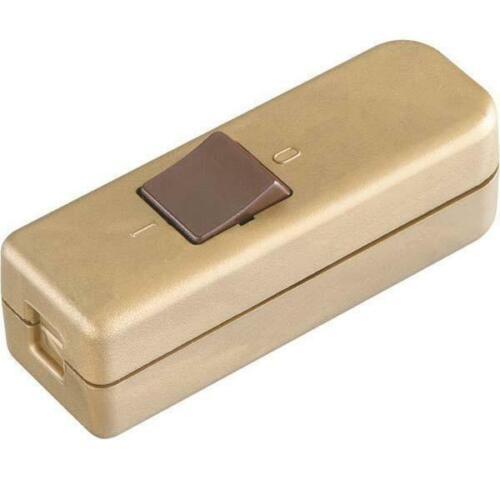 Bachmann cuerda-entre interruptor 924.050 oro cuerda modificador// Dimmer plástico