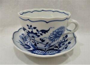 Große XL Tasse Jumbotasse Kaffeetasse Teetasse Zwiebelmuster blau weiß