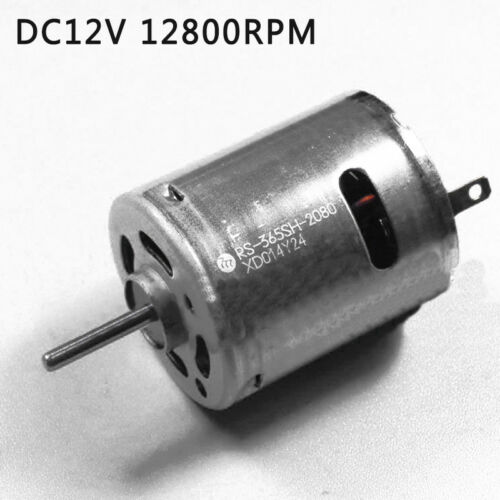 Micro Carbon Brush Motor 12V DC 12800RPM Newest For Mabuchi RS-365SH Motor