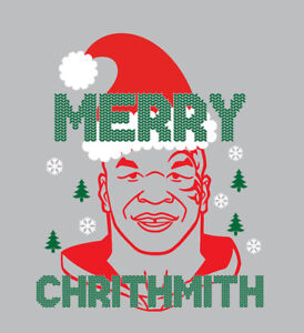 Mike Tyson Christmas Meme.Details About Merry Chrithmith Mike Tyson Christmas Raglan Or T Shirt Holiday Shirt Boxing