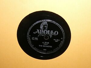 The-Keynotes-78-RPM-Record-I-Don-039-t-Know-A-Star-Apollo-AP-3539-Doo-Wop