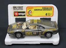 Bburago 0162 1:24 1984 Ferrari GTO European University Antwerp  MIB Italy 80s