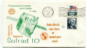 1971 Explorer 44 Solrad 10 Scout Solar Flares Stellar X-rays Wallops Island Usa Cadeau IdéAl Pour Toutes Les Occasions