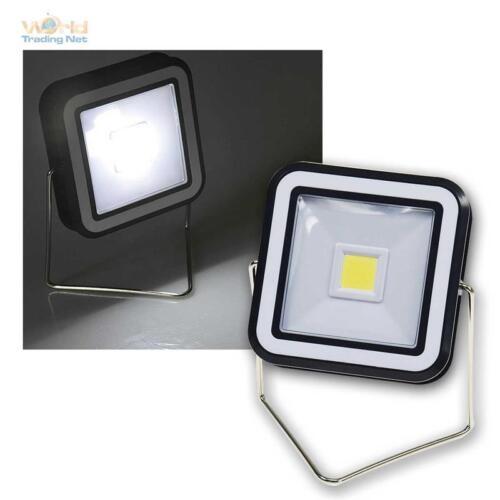 Taschenlampe Arbeitsleuchte 200lm Camping Auto Solar LED Leuchte mit Ständer