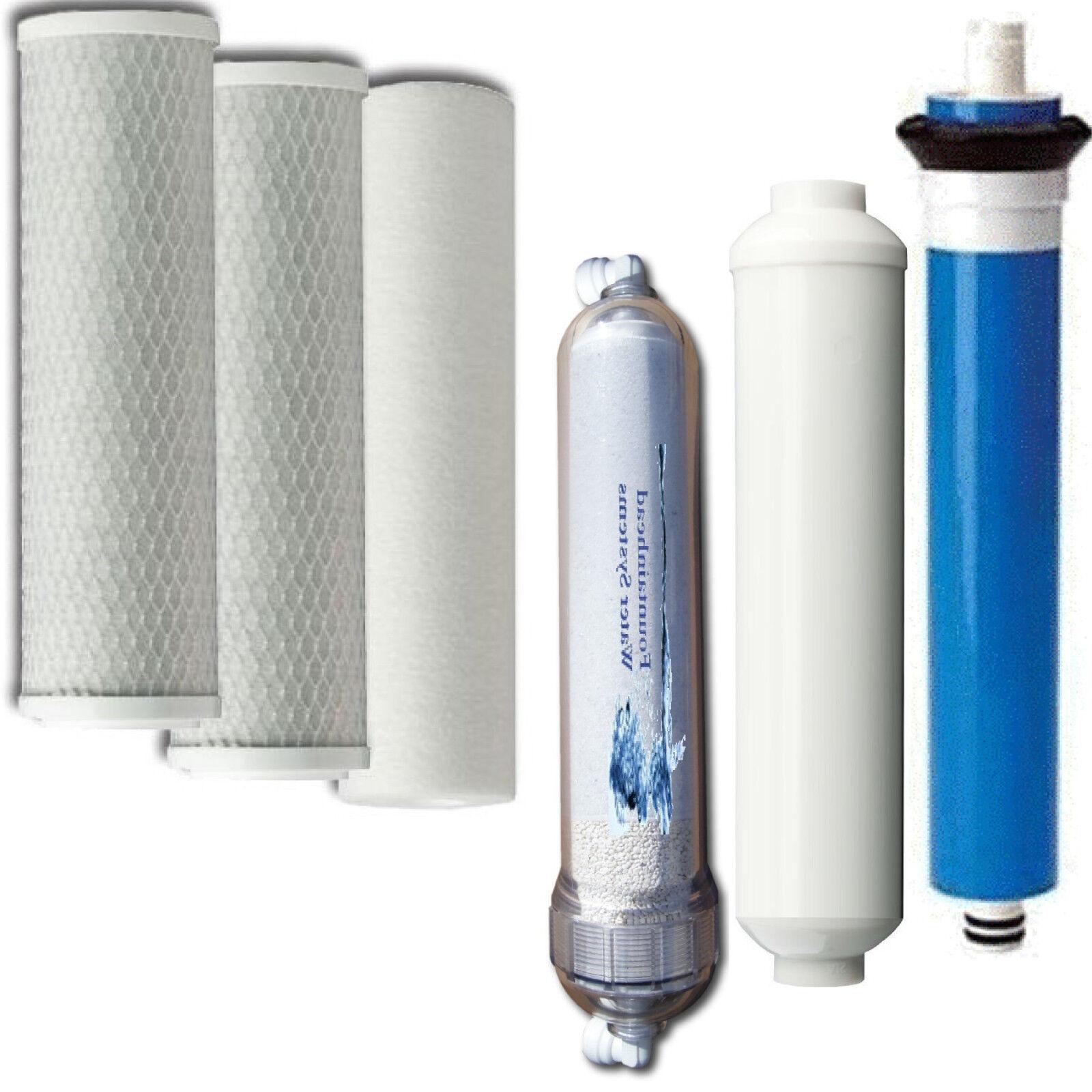 Osmose inverse 2 Carbone Bloc. carbone inline. Alcaline Filtre. 75 Gotham Police Department Membrane