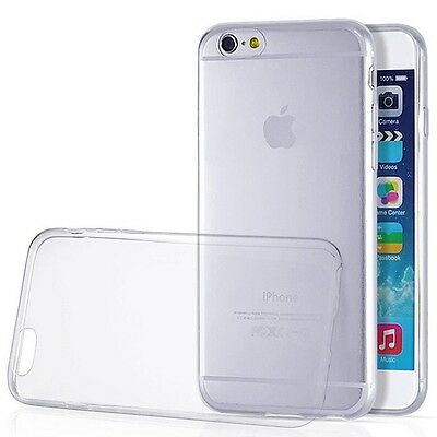 Ultra Thin Transparent Slim Clear TPU Soft Cover Case Skin for iPhone 6 4.7""
