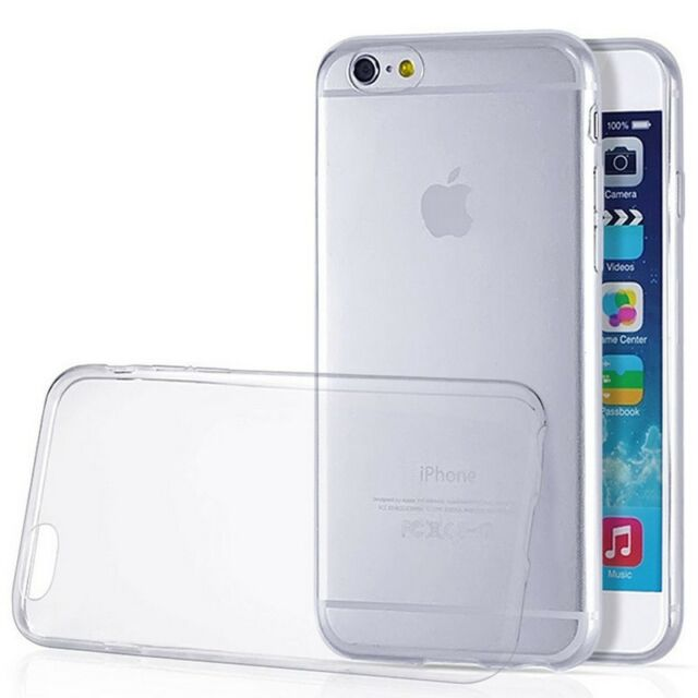 """Ultra Thin Slim Crystal Clear Soft TPU Cover Case Skin for Apple iPhone 6 4.7"""""""