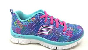Groove Thang 81812 Neon Pnk//Multi 14T3 Skechers Kids 81812L Girls Skech Appeal