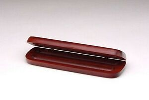 Personalized-Rosewood-Double-Pen-Case