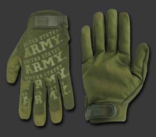ARMY STRONG Lightweight Mechanic's US Finger Handschuhe Gloves OD Green oliv  XL Handschuhe Camping & Outdoor