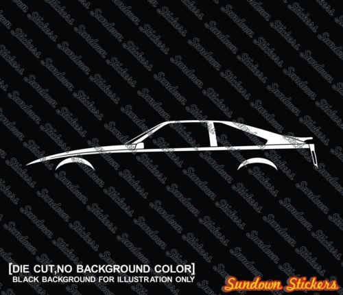 for Toyota Celica Supra Mark 2 A60 1981–1986 2X jdm Car silhouette stickers