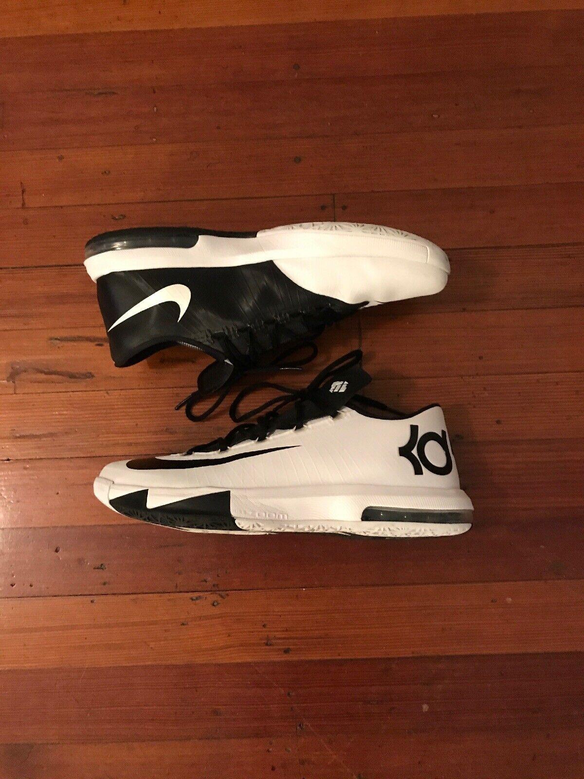 Nike KD 6 VI Mens Size 11 White Black Nike ID KD IV 4 5 6 7 8 9 10 Nike I.D.
