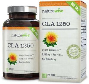 NatureWise-CLA-1250-Natural-Weight-Loss-180-pills