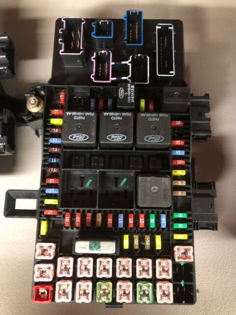 2004 Expedition  Navigator Fuse Box Recall Fixed 4l1t