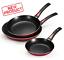 3-PACK-Frying-Pan-Set-Nonstick-Coat-Kitchen-Cook-Pans-Non-Stick-Home-Cooking thumbnail 1