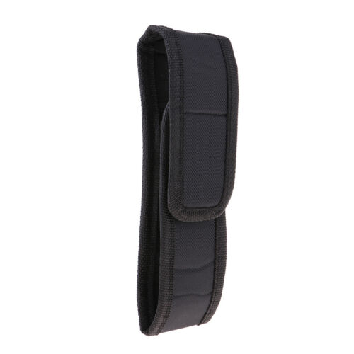 Flashlight Torch Holster Holder Pouch Belt Carry Case Bag for Traveling Camping