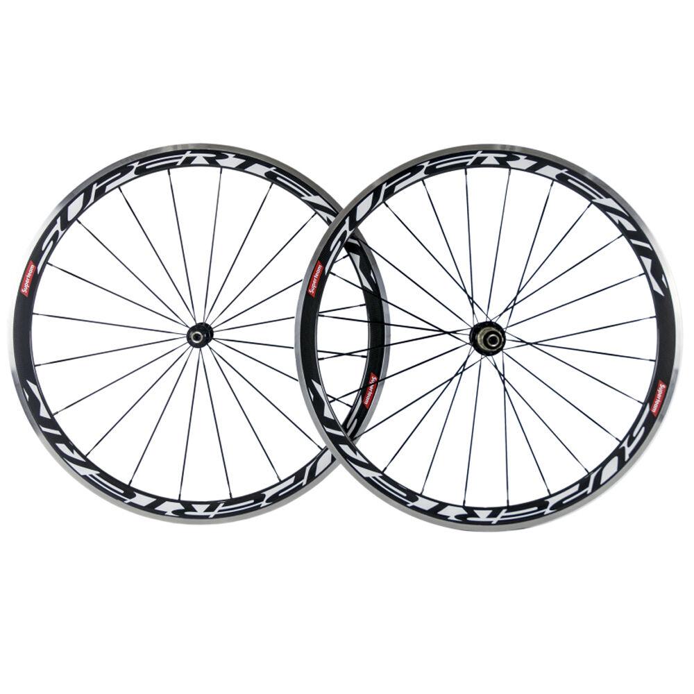 Alloy Braking Surface 38mm Carbon Wheels  Road Bike Clincher Carbon Wheelset