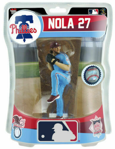 "Aaron Nola Philadelphia Phillies  MLB Imports Dragon Baseball 6/"" Action Figure"