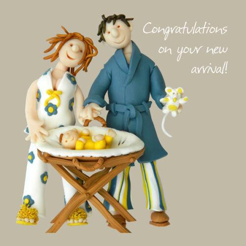 Félicitations arrivée nouvelle carte de vœux seul coup ou deux cartes saint maquereau